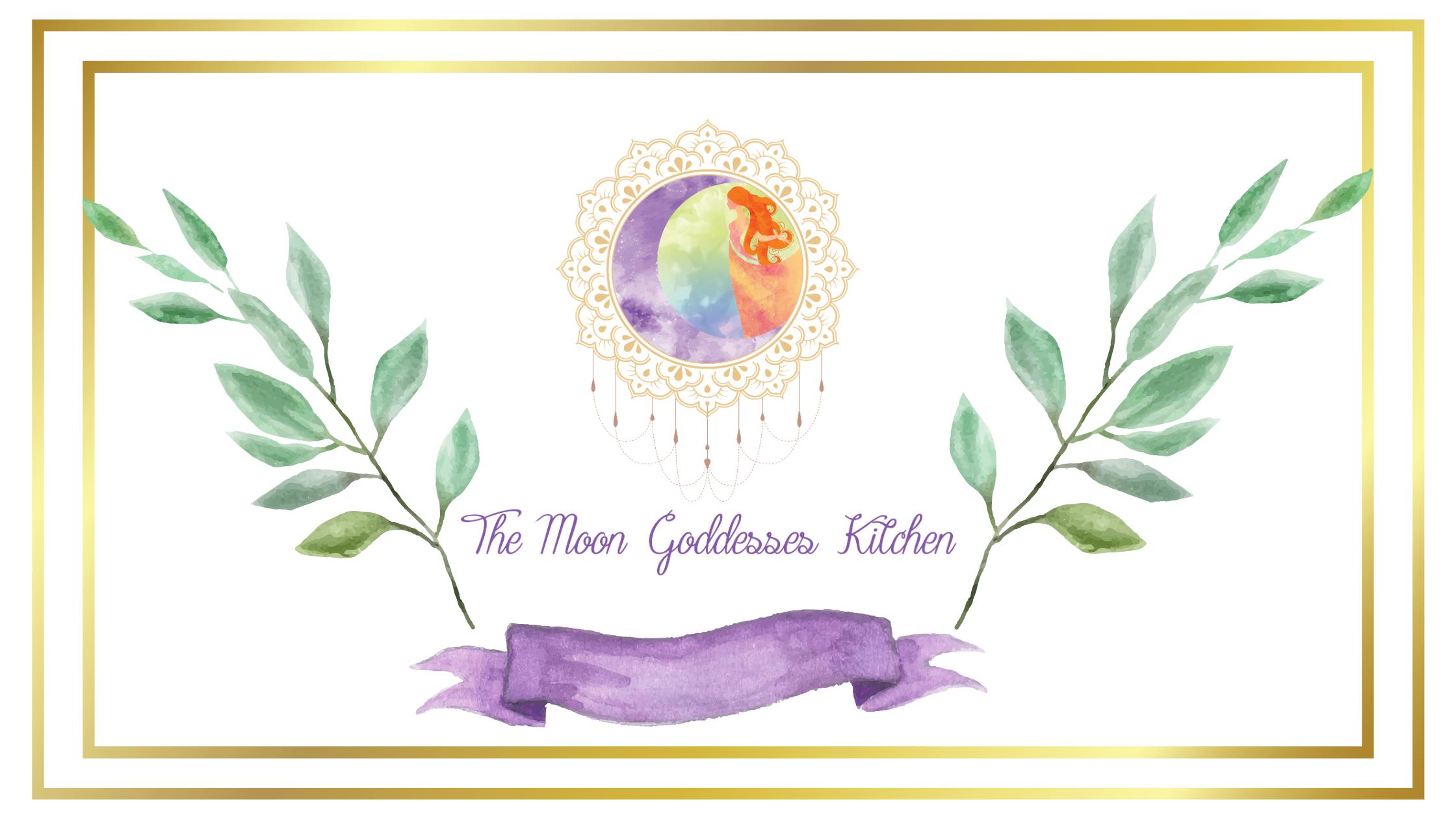 Moon Goddesses Kitchen Banner